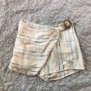 Wrap skirt/skort